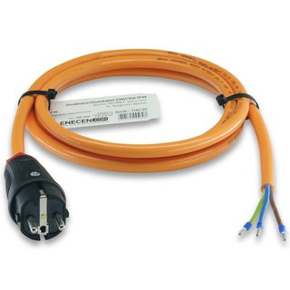 CEE 16A Geräteanschlusskabel Verlängerung H07BQ-F 3x1,5 mm² 40m mit CEE Stecker